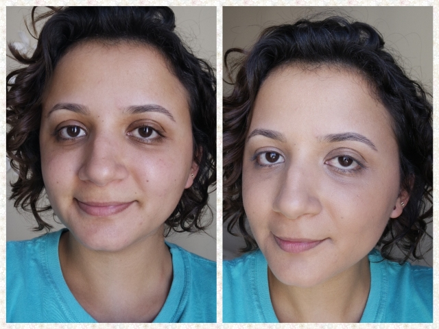 Antes e depois timewise luminous Mary Kay