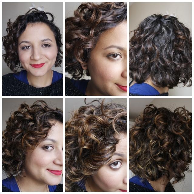 Meu cabelo antes e depois das mechas