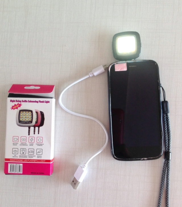 Flash led de celular